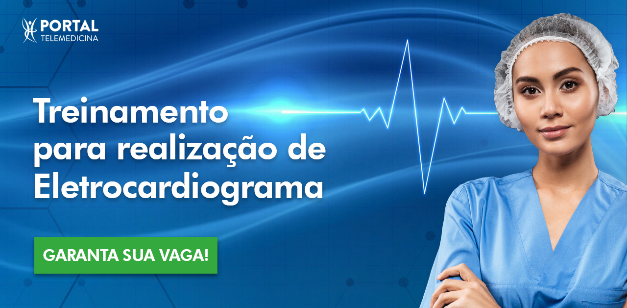 treinamento para realização de eletrocardiograma